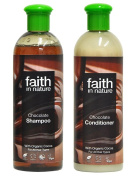 Faith In Nature Chocolate Shampoo 400ml & Conditioner 400ml Duo