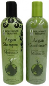 Hollywood Beauty Moroccan Argan Oil Hair Growth Shampoo and Conditioner Set 355 ml
