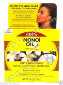 ORS Monoi Oil Tahitian Coconut Anti Breakage Edge Control Hair Gel 64 g