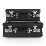 Set Of 2 pcs leather Briefcase - 28cm / 33cm