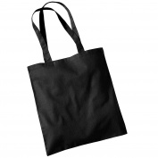 Womens Westford Mill Cotton Promo Shoulder Tote Carry Bag
