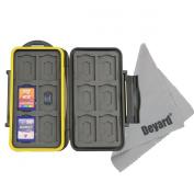 Deyard K020 Waterproof Memory Card Case Shockproof Memory Card Carrying Case Protector Box