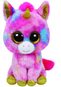 Ty Beanie Boo FANTASIA the colourful UNICORN 25cm Medium Size
