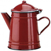 Ibili 910210 Coffee Conical porcelain enamelled steel Red 1 l
