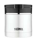 Thermos Stainless Steel Flip Top Food Jar, 300ml, Black