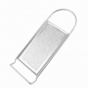 Silver Tone Stainless Steel Micro Plane Zester Grater Kitchen Tool