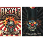 Bicycle Psycho Clowns Playing Card (Limited Edition) - Trick