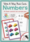 Numbers Building Blocks Flashcards in Large Tin (UK)