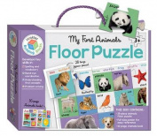 My First Animals Building Blocks Floor Puzzles