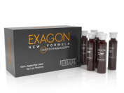 EXAGON Hair Loss Treatment Lotion with Plant Placenta 12 ampoules.