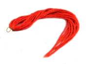 Elysee Star Dreads Red Dreadlocks Double Ended Synthetic Dread