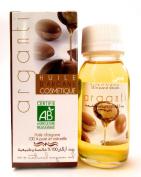 Arganti Argan Oil 100% Pure and Organic Moroccan Oil for skin and hair - 60 ml