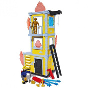 Fireman Sam - Fire Rescue Tower with character Sam