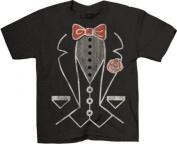 Life Clothing Tuxedo Tee Toddlers Black T-Shirt