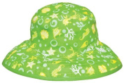 Baby BanZ UV Reversible Bucket Hat, Green Tide, 0-24 Months Colour