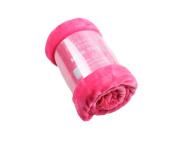 Mink Faux Fur Throw Hot Pink / Fushia 150x200, Large 2 Seater Sofa / Bed Blanket