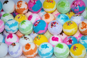 Bath Bombs 7. oz. 10 Pack LARGE Assorted Colours & Scents