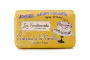 Mistral Les Sentiments Gateau a la Vanille Vanilla Cake French Bar Soap 210ml