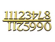 Clock Numerals Are 2.5cm With a Pressure Sensitive Adhesive Back