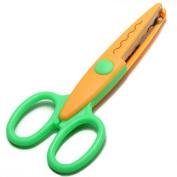 Ripple Edge Scissors DIY Photo Scrapbook Handmade Artwork Craft.