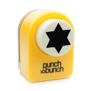Medium Punch - Star of David