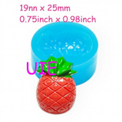 21kg Pineapple Silicone Flexible Mould Fruit Mould 25mm - Cake Decorating Candy Fondant Charms Moulds, Sugarcraft Mould Food Safe
