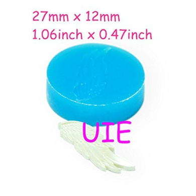184LBP Angel Wings Mould Flexible Silicone Mould 27mm - Cupcake Decoration Charms Sugarcraft Mould, Soap Mould Food Safe