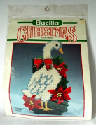Bucilla Christmas Goose Doorstop Plastic Canvas Kit 61107