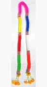 Thai 7-Colour Flower Plastic Garland /Size
