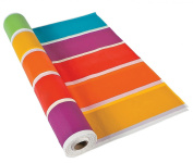 Rainbow Tablecloth Roll (30m X 120cm ) Plastic.