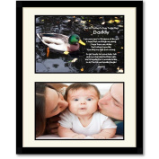 New Dad Gift for Father's Day - Sweet Poem For Daddy From Daughter or Son - Add Photo