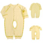 LSQtronics 2015 Hot Style newborn Siamese long sleeve climbing clothes --Boneless sewing-Yellow