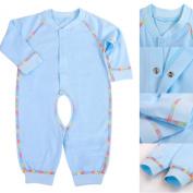 LSQtronics 2015 Hot Style newborn Siamese long sleeve climbing clothes --Boneless sewing-Blue