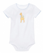Elegant Baby Unisex-Baby Newborn 100% Cotton Body Suit - Giraffe