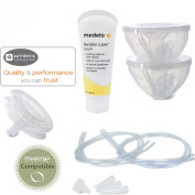 Freemie Collection Cups Deluxe Set (Compatible with Medela) WITH Medela Tender Care Lanolin (60ml Tube) Bundle