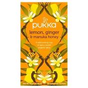 Pukka Herbs Lemon Ginger & Manuka honey 20 x 2g by Pukka Teas