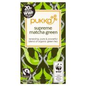 Pukka Herbs Supreme Green Matcha Tea 20 per pack by Pukka Teas