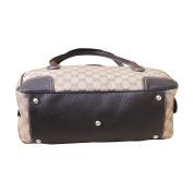 Gucci Crystal Princy Brown Boston Bag Handbag 293594