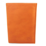 Leather wallet 'Frandi'wild orange (european).