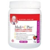 Medi C Plus Lysine Berry Flavour (1KG) medi-c plus Brand