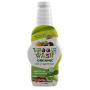 Veggie Wash Organic Fruit and Vegetable Wash Soaker, 32 Fluid Ounce