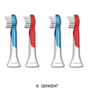 Genkent Replacement Brush Heads for Philips Sonicare Hx6034 Sonicare for Kids Brush Heads, Ages 4-7, 8 PCS