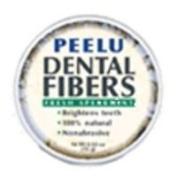 Peelu Dental Fibres Tooth Powder, Spearmint, 15ml