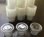 30ml Jello Shot Souffle Portion Cups with Lids