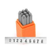 ImpressArt Basic Metal Stamp Set, Numbers, 2.5mm