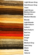 Crepe Wool Hair- Fawn Colour for Doll Making or Theatrical Uses