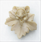 Longzang Maple leaf mice mould S301 Craft Art Silicone Soap mould Craft Moulds DIY Handmade soap moulds