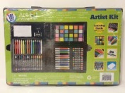 Art 101 Artist Kit with Learning Guide Inside 101 Pieces