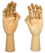 Manikin Hands Pair Left and Right Hand