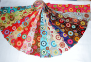 17 6.4cm Bright Lucky Medallions Jelly Roll